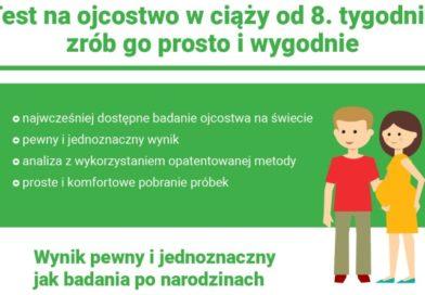 Test na ojcostwo w czasie ciąży [INFOGRAFIKA]